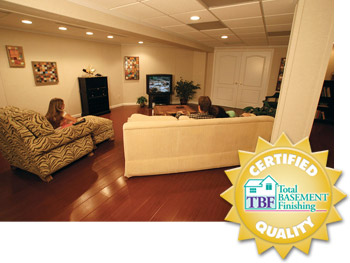 Total Basement Finishing Johnson County | Basement Remodeling