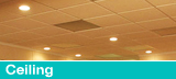 Ceiling Tile Installation by Total Basement Finishing of Johnson County